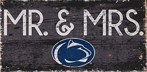 Fan Creations Penn State University Mrs Sign, Multi