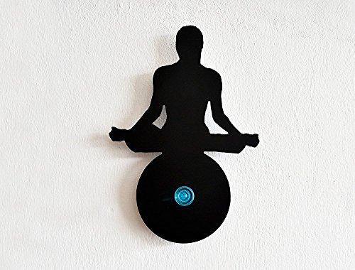 Yoga Buddhism Silhouette Wall Hanger
