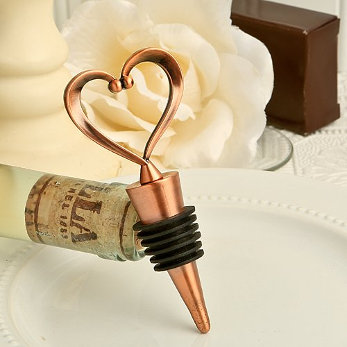 180 Vintage ''One Love, One Heart'' Bottle Stoppers by Fashioncraft