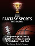 The sport might be fantasy, but the money you are going to win is REAL! Even still, not many are aware of this, but there is serious money flowing through the fantasy sports industry. The game you love doesn't have to just be a hobby anymore....