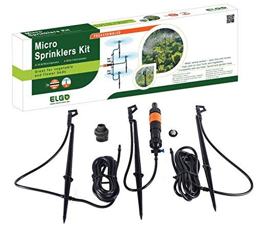 Garden Sprinkler System - ELGO Micro Sprinkler Kit