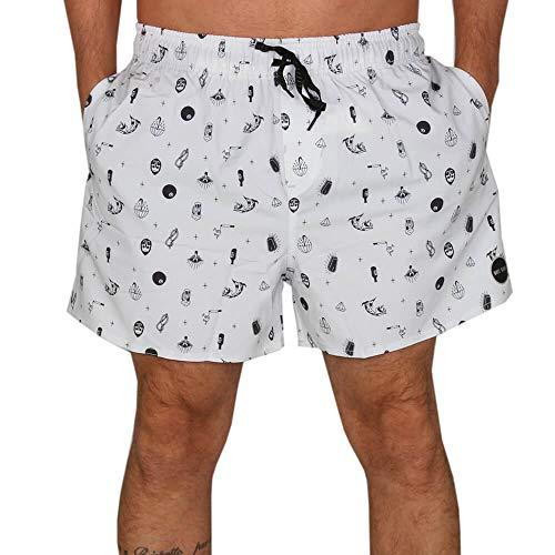 Shorts Voley Wg - Branco - G