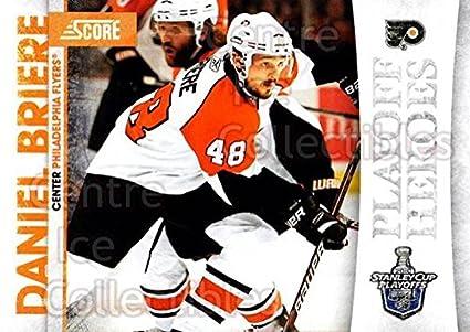 (CI) Daniel Briere Hockey Card 2010-11 Score Playoff Heroes 12 Daniel Briere 8d14a1746