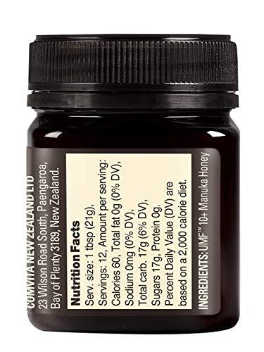 Comvita UMF 10+ (MGO 263+) Raw Manuka Honey | 8.8 oz I New Zealand's #1 Manuka Brand | Wild, Non-GMO I Premium Grade by Comvita (Image #3)