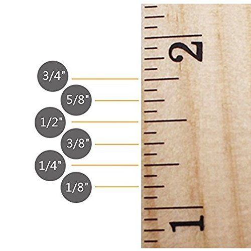 Betan 30 Pack Wooden Rulers Student Rulers Wood School Rulers Measuring Ruler Office Rulers,2 Scale,30 cm and 12 inch by Betan (Image #2)