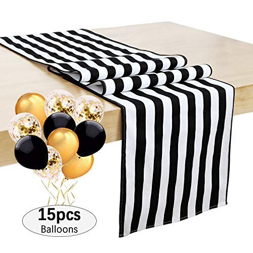 SoarDream Black and White Striped 14