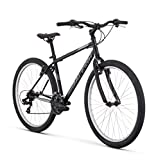 Raleigh Talus 1 Recreational Mountain Bike, 15″ /Sm Frame, Black, 15″ / small