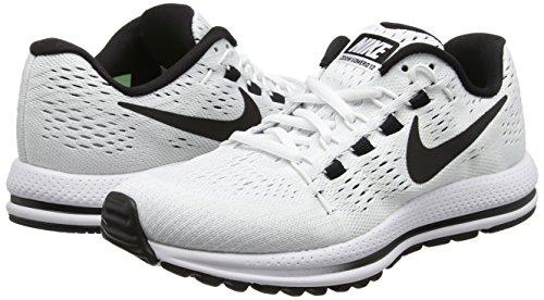 Air Blanc Nike Vomero Platinum Wmns Zoom black Femme Running white pure 12 aSxq5x0w