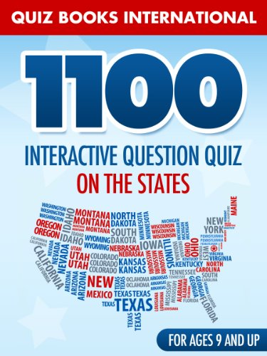 States Quiz: 1100 interactive question quiz on the states - Kindle on