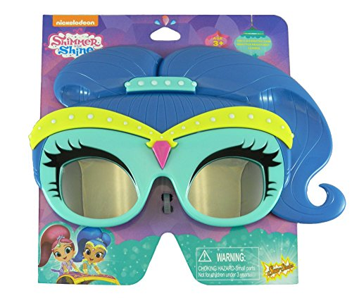 Sun-Staches Shimmer and Shine Sunglasses in Blue