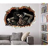Adhesivo de pared Zooarts con diseño de Halloween.