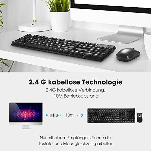 TOPELEK de Teclado ratón de Juegos: Amazon.es: Informática