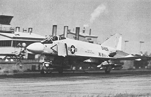 Home Comforts Canvas Print During Catapult Tests at Naval Air Test Facility Lakehurst, Jersey (USA), in 1978. The Phantom Stretched Canvas 10 x 14 -