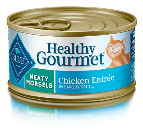 Blue Healthy Gourmet Adult Meaty Morsels Chicken Wet Cat Food 3-Oz (Pack Of 24) Review