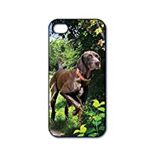 Dimension 9 3D Lenticular iPhone 5/5s Cell Phone Cover - Retail Packaging - German Shorthaired Pointer, Pet Breed Series