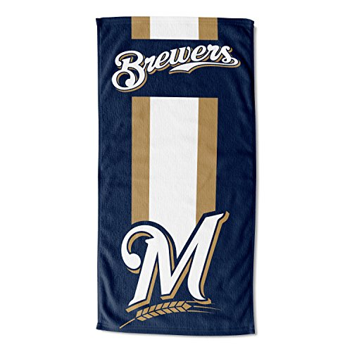Milwaukee Brewers Mlb Pool - Officially Licensed MLB Milwaukee Brewers Zone Read Beach Towel, 30