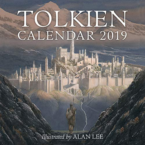 2020 Calendar The Realm Of Middle Earth Map 11x14 Unframed Calendar Art Print