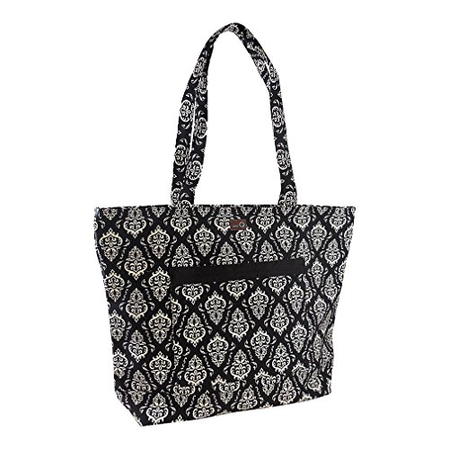 della Q Willa Shoulder Knitting Bag (19.5'' W x 15'' H x 6'' D); 109 Columbia 424-1-109 by della Q