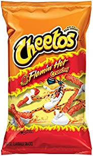 Cheetos Crunchy Flaming' Hot Cheese Flavored Snacks, 8.5 O