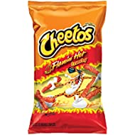 Cheetos Crunchy Flaming' Hot Cheese Flavored Snacks, 8.5 Ounce