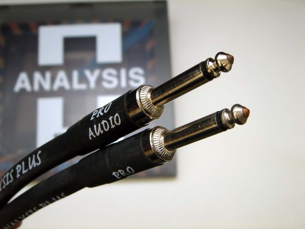 ANALYSIS PLUS アナリシスプラス / Speaker Cable CLEAR OVAL 10m Phone-Phone B00UMV0GI8
