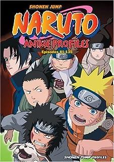 Naruto Anime Profiles Vol 3 Episodes 81 135