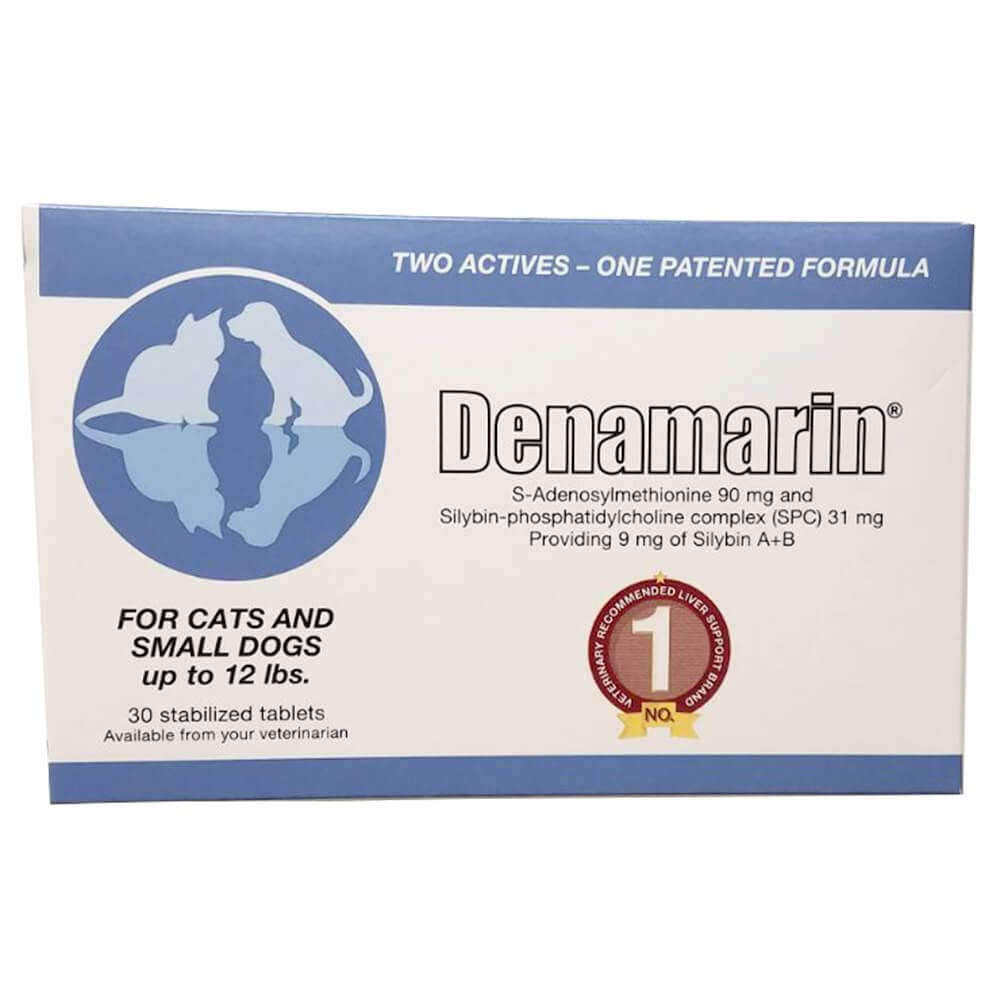 Denamarin Liver Support Supplements for Small Dogs (up to 12 lbs) and Cats