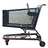 Plastic Shopping Cart with Wheel for Groceries Retail Store Fixture Lot of 6 NEW