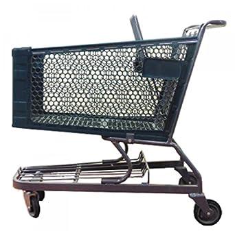 Carrito de la compra con rueda de plástico para alimentos tienda ...