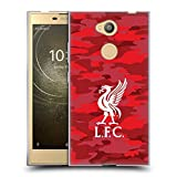 Official Liverpool Football Club Home Colourways Liver Bird Camou Soft Gel Case for Sony Xperia L2