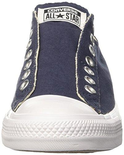 Converse Ct a/S Slip, Sandalias con Plataforma para Hombre Azul (Navy)