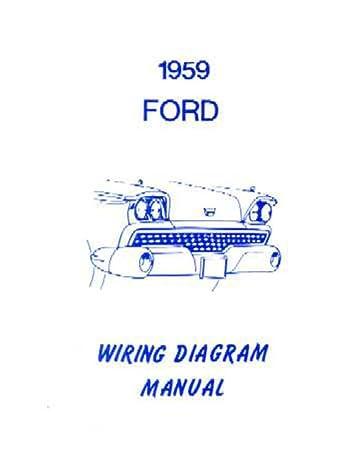 Amazon.com: bishko automotive literature 1959 Ford Electrical ... 1972 chevelle wiring diagram pdf Amazon.com