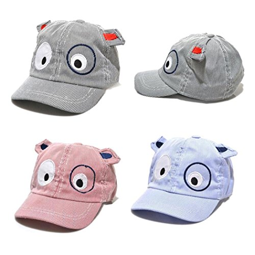 Lanhui Kid Sun Hat Beret Cute Cartoon Dog Baseball Cap for Boy Girl Adjustable (Red, Hat Circumference: - Red Sox Rangers