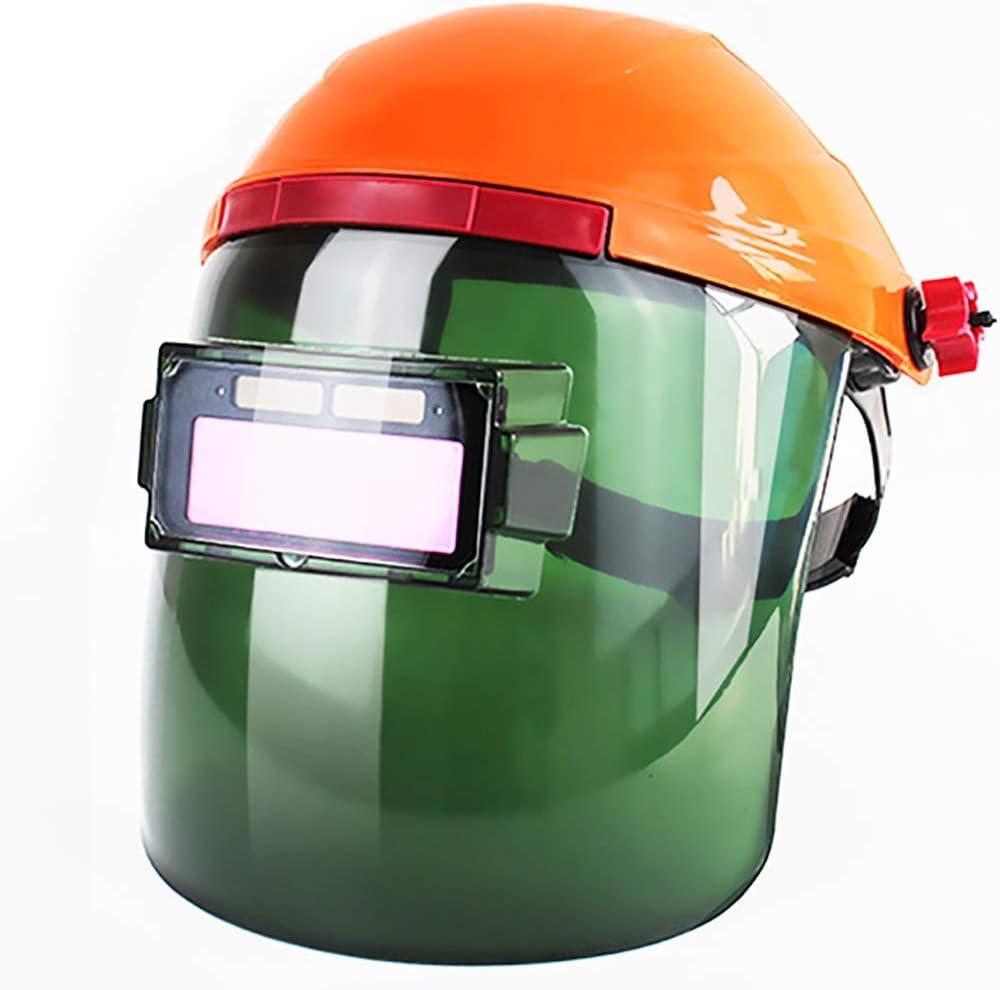 Máscara de soldadura Máscara de soldadura - Totalmente automática Cambio de luz Cabezal de protección anti-ultravioleta antirreflejo de arco de argón Soldador de soldadura de arco especial Soldadura e