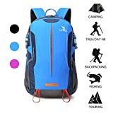 Camel Hiking Backpack Travel Backpack Outdoor Backpack Lightweight & Durable(Blue)