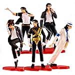 Ailinisi Michael Jackson Commemorate Figure Doll 5 pcs Figure Box Set