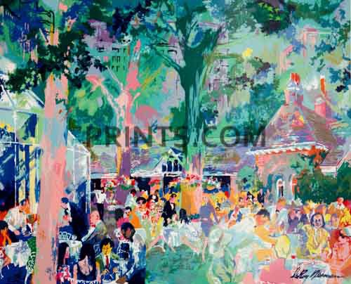 LeRoy Neiman - Tavern on the Green Open Edition Serigraph on Paper