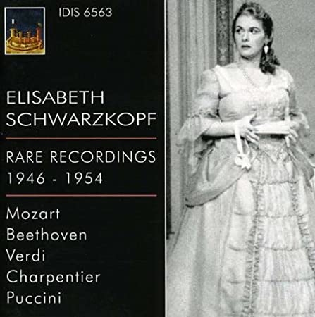 Rare Recordings 1946-1954 by Schwarzkopf, Elisabeth (2009-02-24)
