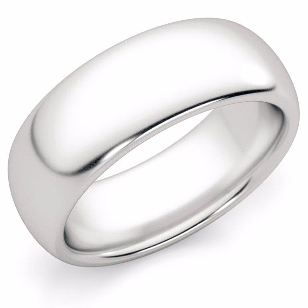 Platinum Wedding Bands For Men.7mm Platinum Wedding Band Ring Amazon Com