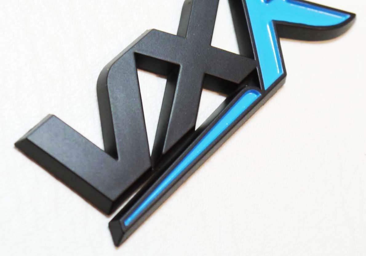 Vxr Emblem Schwarz /& Blau Corsa D Astra Kofferraum Vxr Nicht Chrom