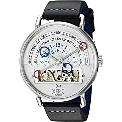 Xeric Men's Halo Graph Automatic Silver Limited Edition Watch