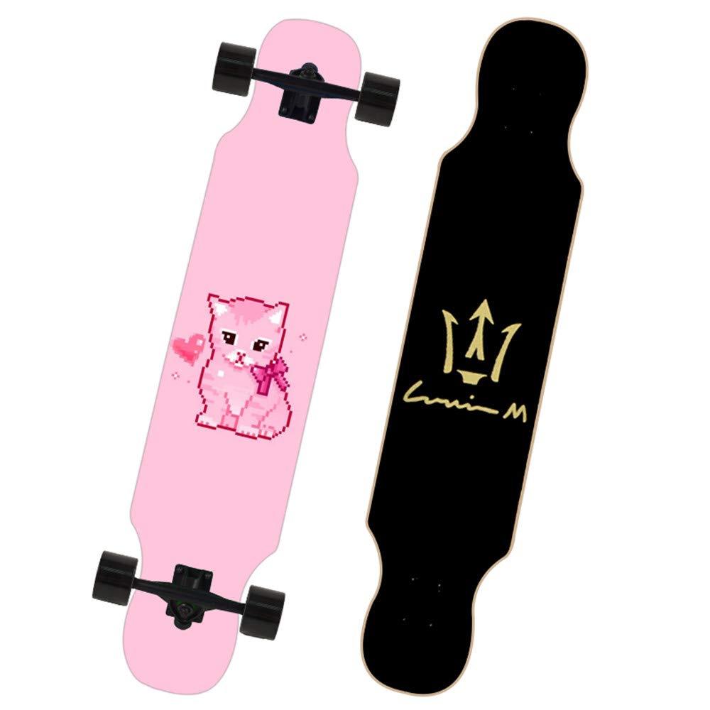 KD Skate A-Clase Arce Tabla Superficie Capacidad de Carga más Potente Skateboard tecnología de impresión térmica patrón Adolescente idoneidad y niños Mayores de 10 años de Edad,2