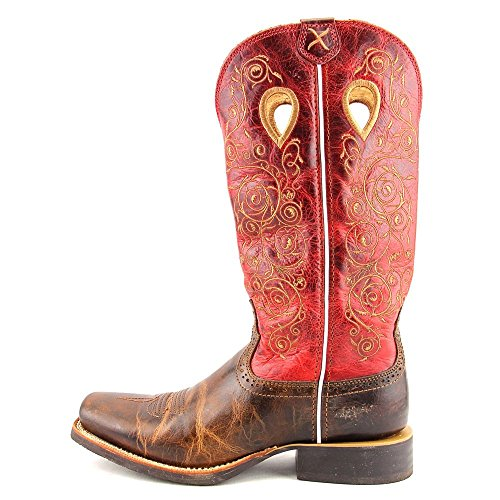 Multicolore Boots X Stock Cowboy Twisted Et Red Bottes Saddle Femme Bottines Ruff fZzSSxqn