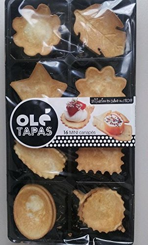 Tapas Assortment - Canape to Fill - Pastry Shells - 16 Units by OLE (Image #2)