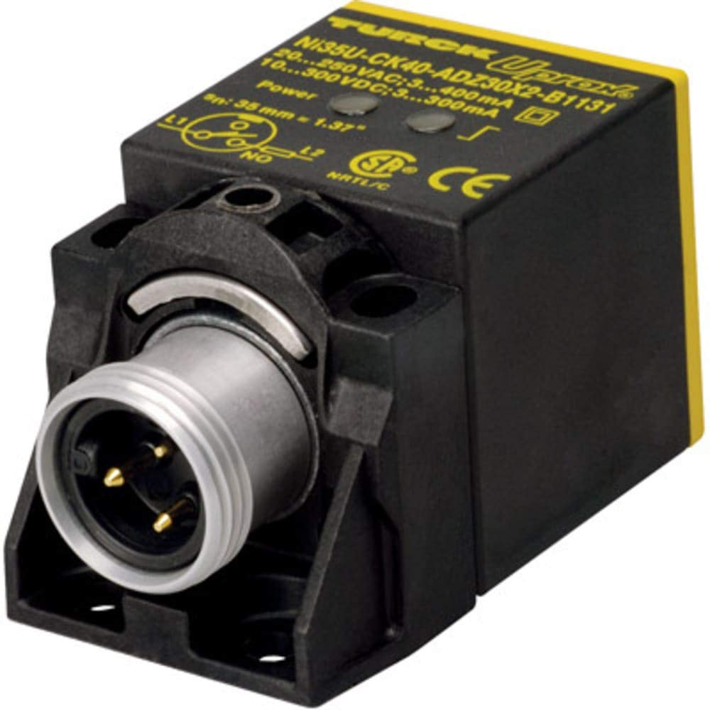 Inductive Prox; 35mm Sensing Distance; Square 40mm Height; NO; 2wire AC/DC; Non-Flush