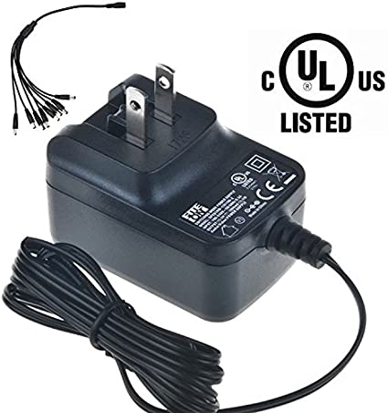 Accessory USA 8 Way Splitter Connector 8-in-1 AC DC Adapter for Lorex ACC-U81 ACCU81 Security Camera Power Supply Cord