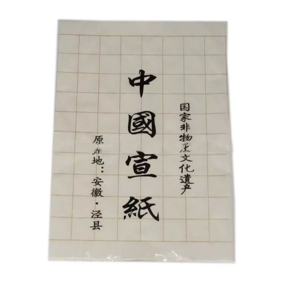 20 Sheets Practice Xuan Papers with Grids 13.5*54 Inches Panda Superstore PS-OFF1069736-EMILY02470