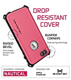 iPhone 6S Waterproof Case, Ghostek Nautical Series for Apple iPhone 6 & 6S (Pink)