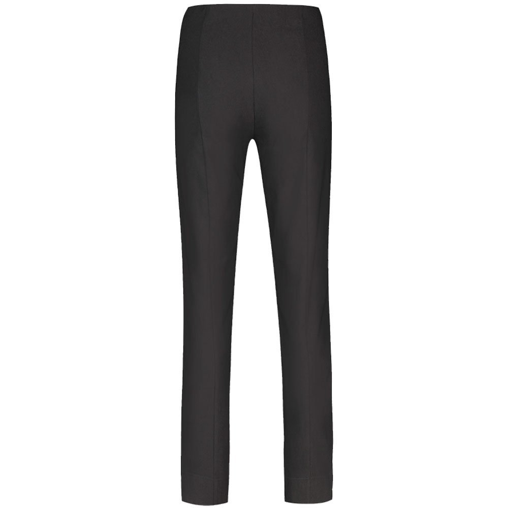 ed8a46f02be6 Robell Black Slim Fit Stretch Trouser 51412: Amazon.co.uk: Clothing