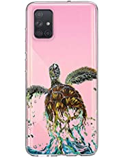 Oihxse Funda para Samsung Galaxy Note 10 Transparente, Estuche con Samsung Galaxy Note 10 Ultra-Delgado Silicona TPU Suave Protectora Carcasa Océano Animal Serie Bumper (C10)